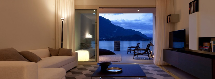 como house moderne sul lago
