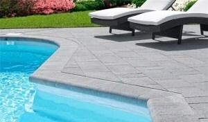 Pavimenti per piscina affordable secular linea di bordo e per