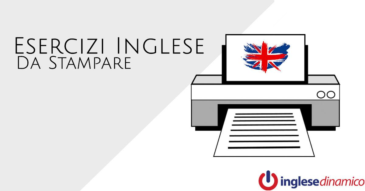 inglese b2: esercitazione sulla grammatica