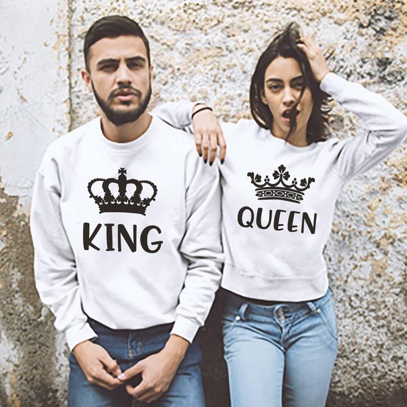 felpa king e queen
